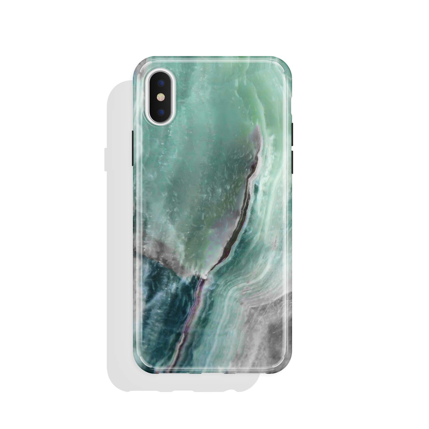 Akna iPhone X case for girls, High Impact Flexible Hard Cover for iPhone X (740-U.S)