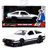 Jada Metals Hollywood Rides Initial D Toyota Trueno AE86 1:24 30840 White//Black