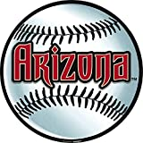 Baseball Dream Arizona Diamondbacks Party Cutouts Wall Decoration, Paper, 12""