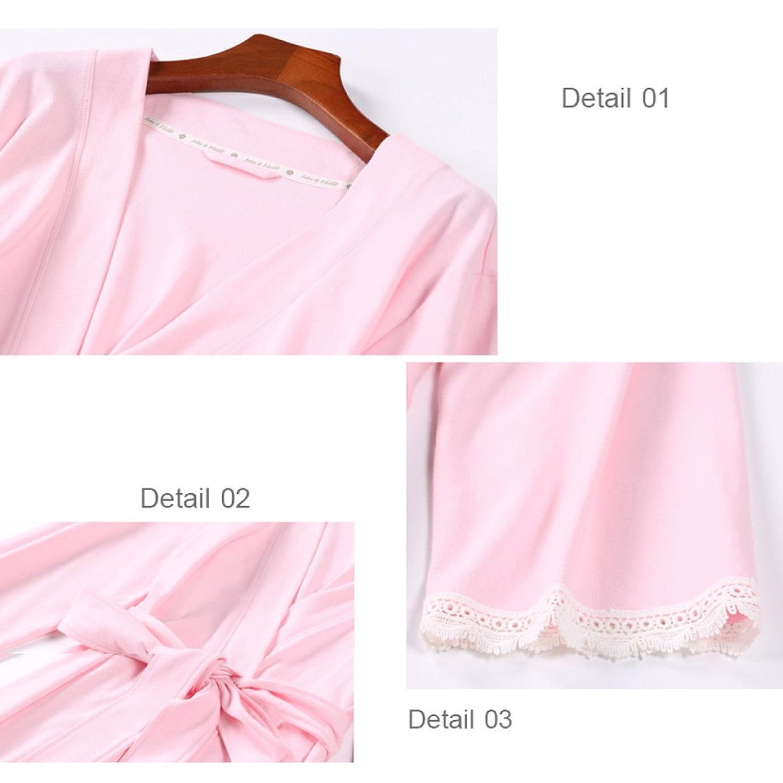 Womens Primavera Lace Kimono 7832 Lady Albornoces Túnicas Camisón ...
