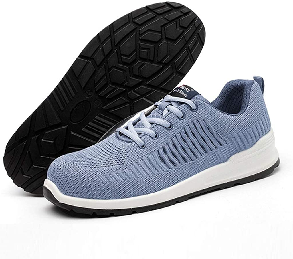Doublelift Mens Fashion Ultra Lightweight Flats Breathable Lace-Up Mesh Street Sport Gym Running Walking Shoes Athletic Tennis Sports Cross Training Casual Walking Shoe Sneaker