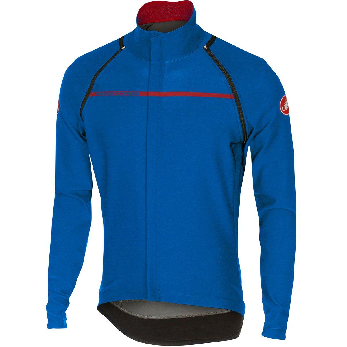CastelliメンズPerfetto Convertible Cycling Jacket B01L2XQ7UU Small サーフブルー サーフブルー Small