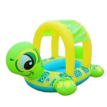 Uleade PVC Flotador Anillo de natación, Infant Natación Flotador de piscinas para bebés niños 1-3 años edad: Amazon.es: Juguetes y juegos