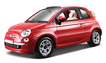 Bburago B18 22117 A Fiat 500c Cabriolet Model Toy 1 24 Scale