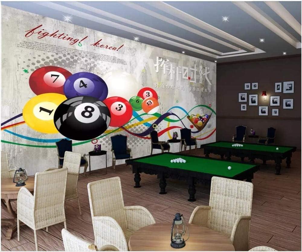 Xcmb Mural Personalizado Papel Tapiz Fotográfico 3D Columpio Piscina Sala De Billar Sala De Billar Decoración Para El Hogar Murales De Pared 3D Papel Tapiz Para Paredes 3 D-300Cmx210Cm: Amazon.es: Bricolaje y