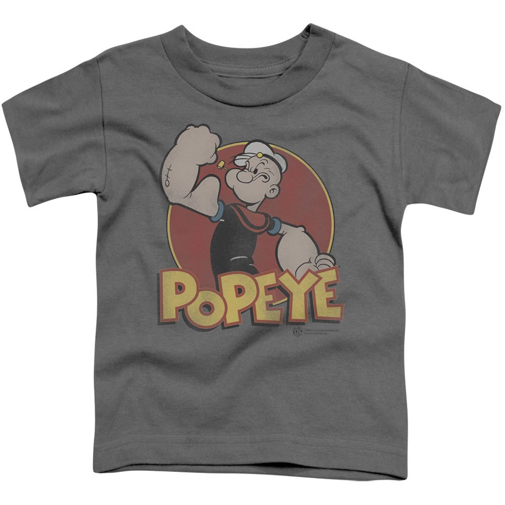 Popeye The Sailor Man Cartoon Character Retro Ring Little Boys Toddler T-Shirt Trevco