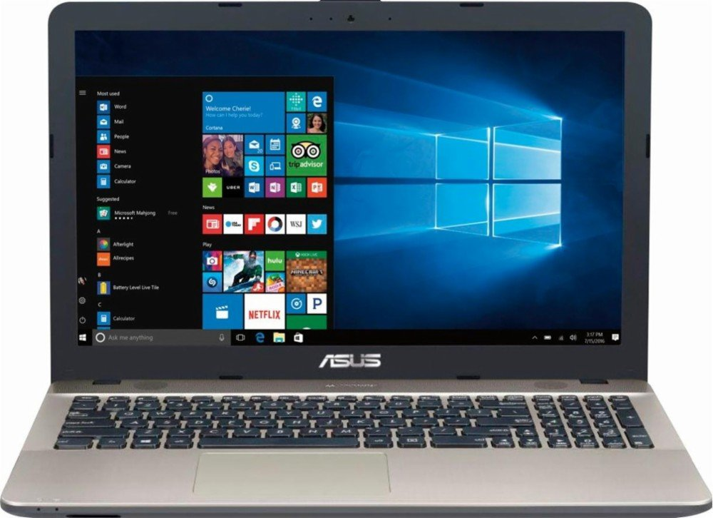 2018 Asus Newest VivoBook Max 15.6 inch HD Flagship High Performance Laptop PC | Intel Processor | 4GB RAM | DVD +/-RW | Windows 10 (Pentium | 500GB | Chocolate Black)