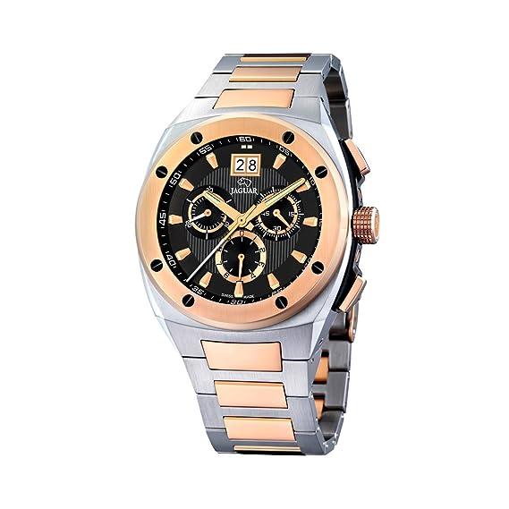 Jaguar 622/3 - Reloj de caballero de cuarzo, correa de acero inoxidable color varios colores: Amazon.es: Relojes