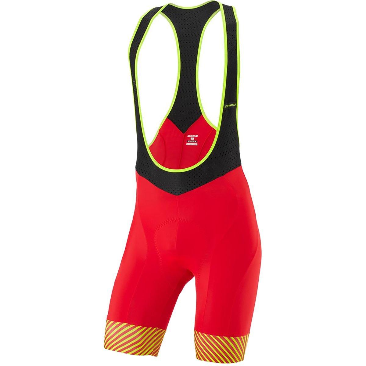 Amazon.com  Capo Nova Bib Short - Men s Red cec7d99ad