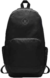Hurley Renegade Solid Backpack (Black, One Size)