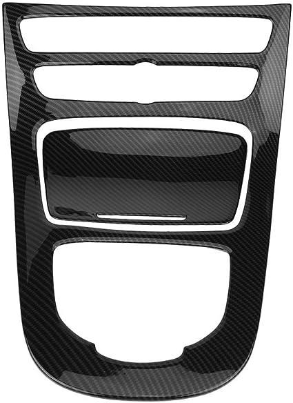 Panel de cambio de marchas - 1 PC del panel decorativo del panel de cambios de control del centro del vehículo para Mercedes Benz E-Class W213 16-18.: Amazon.es: Coche y moto
