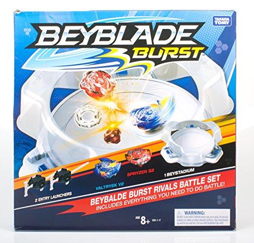 Takaratomy Beyblade Burst Rival Battle Set  Multicolor, Set of 5