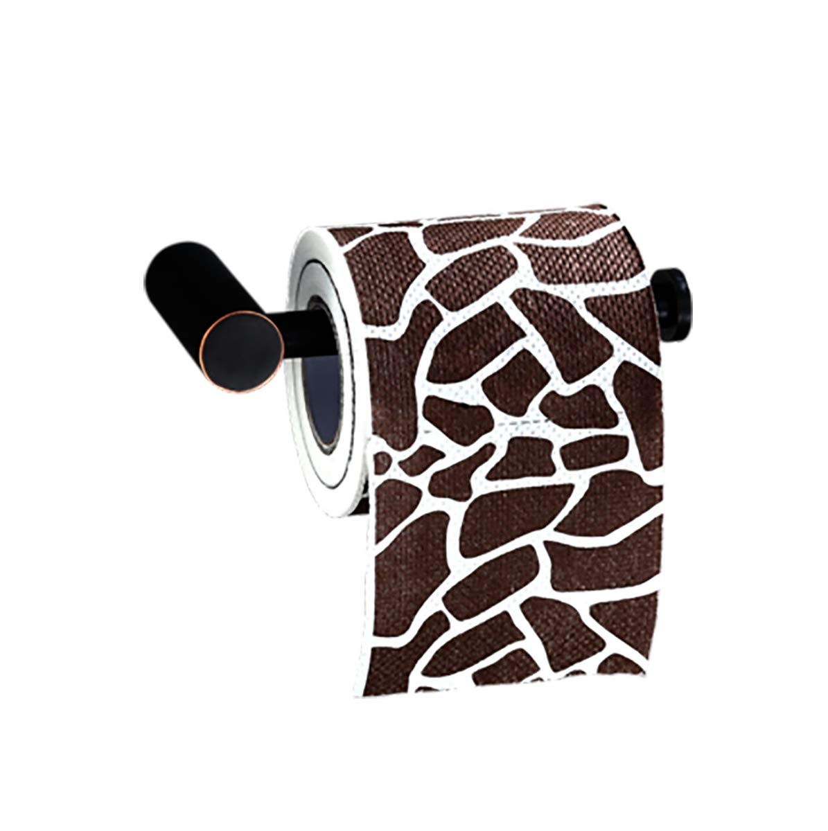 Q&F Paper Towel Holder,Wall Mount Toilet Paper Holder Tissue Roll Hanger,Mounts To Walls Or Under Cabinets-brushed Copper