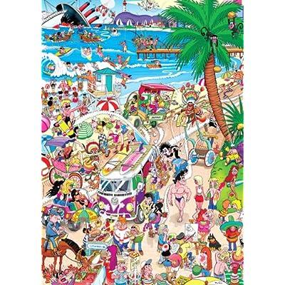Heye 29411 Boardwalk Robert J Crisp Puzzle Triangolare Da 1000 Pezzi