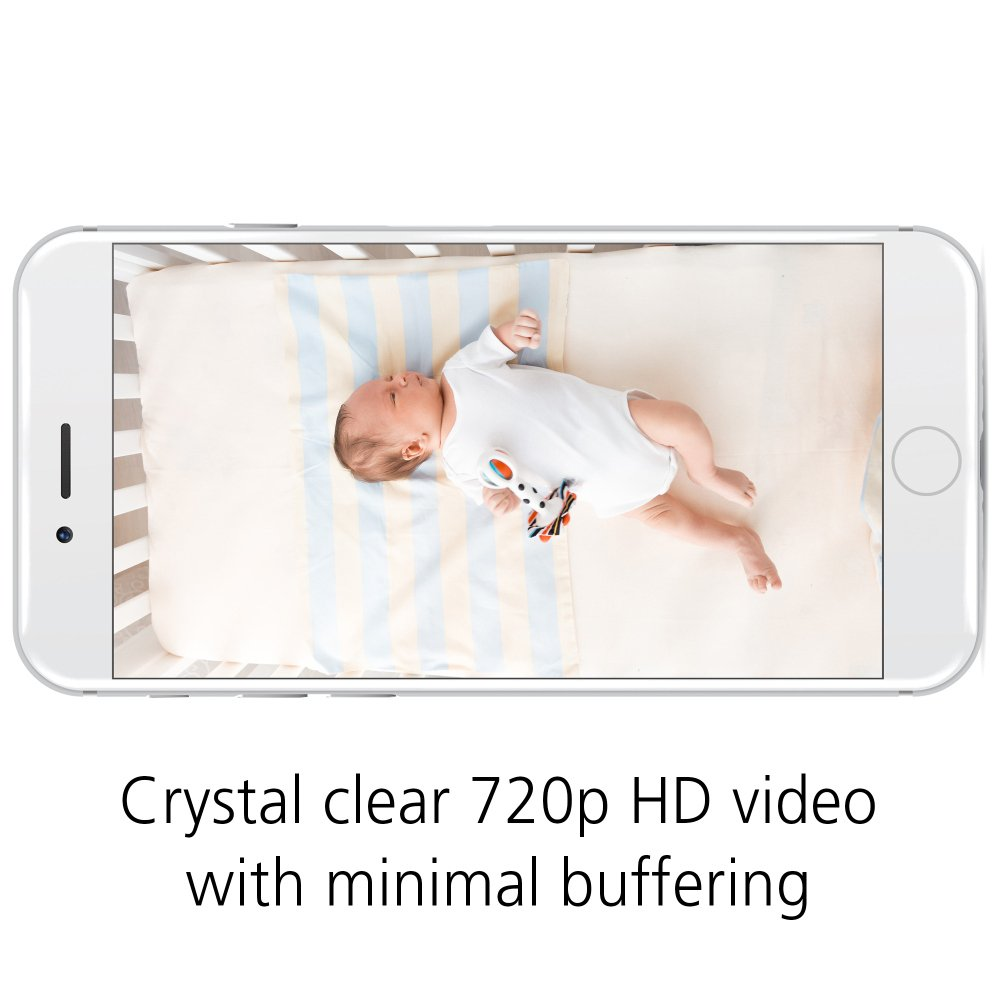 Safety 1st HD Wi-Fi Baby Monitor Camera with Sound- and Movement-Detecting Audio Unit