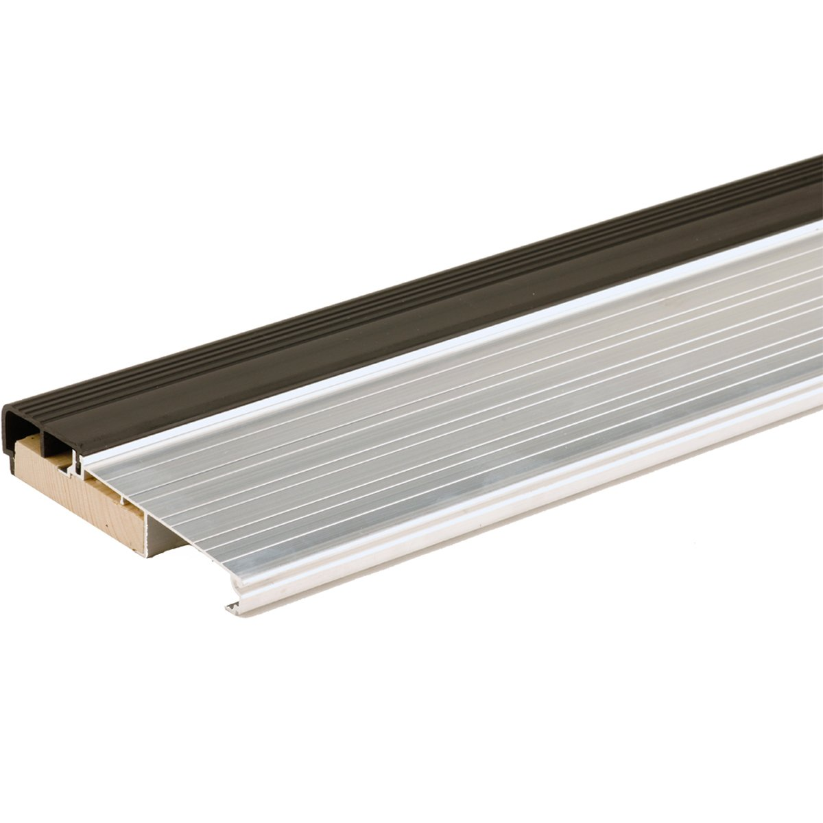M-D Building Products 78691 1-1/8-Inch by 5-3/4-Inch - 36-Inch TH397 Fixed Vinyl Sill Inswing, Aluminum Mill