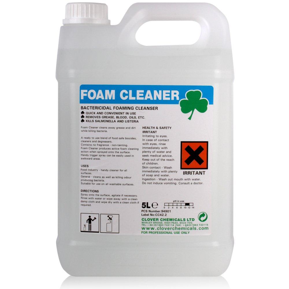 TheChemicalHut Foam Cleaner Bactericidial Kitchen Surfaces (5L)