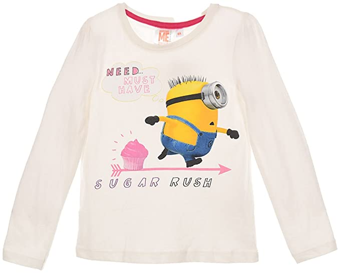 Universal Studios - Camiseta de manga larga - para niña: Amazon.es: Ropa y accesorios