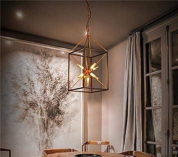 Oudan Nordic Light Industrial Personalidad Creativa Candelabros Candelabros Candelabros Candelabros Art Caf & Eacute; Salón