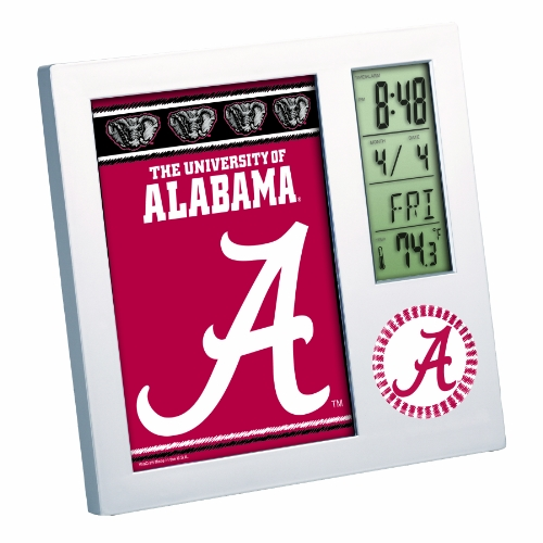 NCAA Alabama Crimson Tide Digital Desk (Alabama Crimson Tide Alarm)