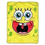 Nickelodeon's SpongeBob 46x 60 Micro Raschel Throw - by The Northwest Co.