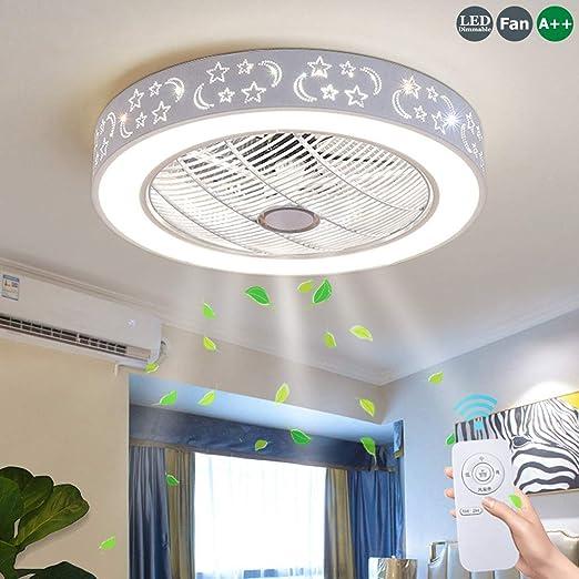 Ventiladores De Techo Con 72W Lámpara Ventilador De Techo Con ...