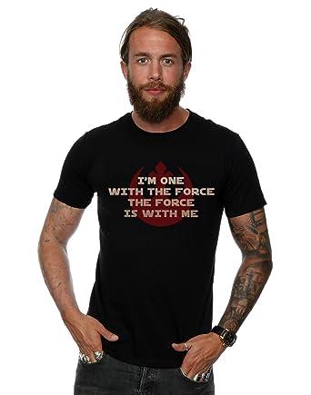 Tshirt Star Wars Mens Black T-shirt Rogue One Darth Prime Forces XL