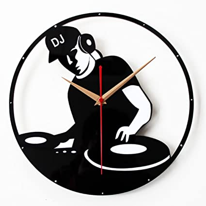 MCC Moda Creativa Reloj de Pared Personalizado de CD Vinilo Club Nocturno KTV bar Jugar Disco