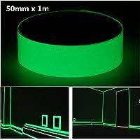 Moppi 50mm x 1m cinta fotoluminiscente resplandor