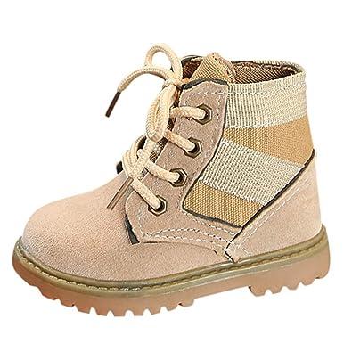 Botines para Niños K-youth Botas Bebe Niño Niña Sneaker Martin Botas de Chicos Chicas Zapatillas de Deporte Antideslizantes Botas de Nieve Unisex para Niños ...