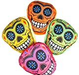 12'' SKULL PILLOWS, Case of 24