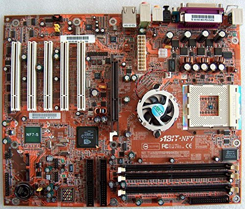 ABIT NF7 SYSTEM BOARD - 4 PCI/ 1 AGP, ONBOARD SOUND - Agp Motherboard