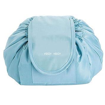 bfa74a3faf1e Amazon.com : Xinnio Drawstring makeup bag lazy Cosmetic Storage Bag ...