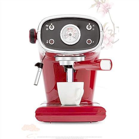 Máquina De Café Vintage Cafetera Italiana Semi-Automática Cafetera Casera