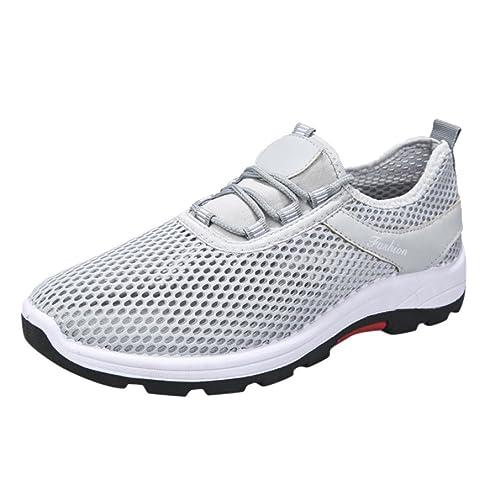 SOMESUN Unisex Casual Sneakers Sport Running Scarpe con Cinturini  Traspiranti Coppia Modelli Uomo e Donna Scarpe ffacb5686e2