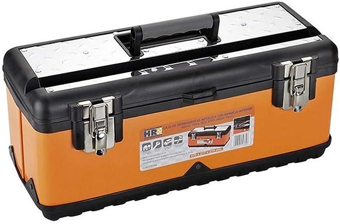 ALYCO 170785 - Caja metalica 510 mm con bandeja interior High Resistace: Amazon.es: Bricolaje y herramientas