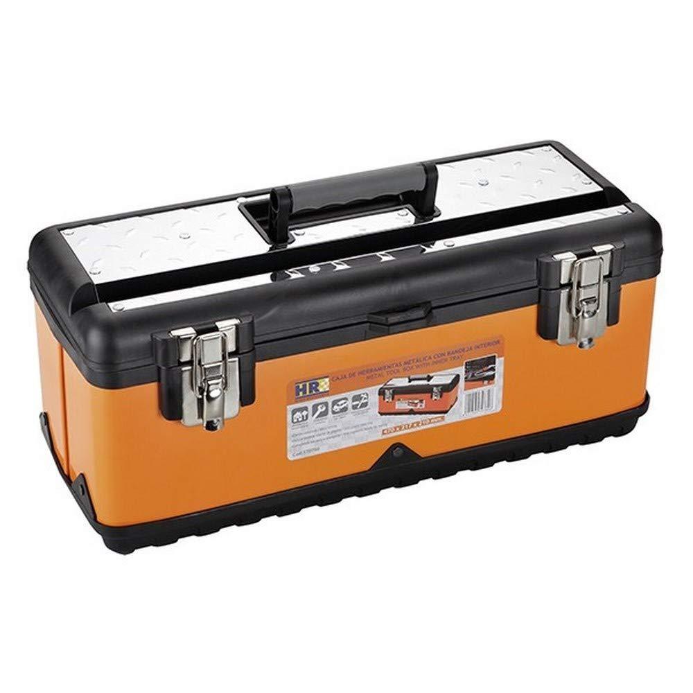 Caja de herramientas con bandejas voladizas metal, 42 cm Faithfull TBB16