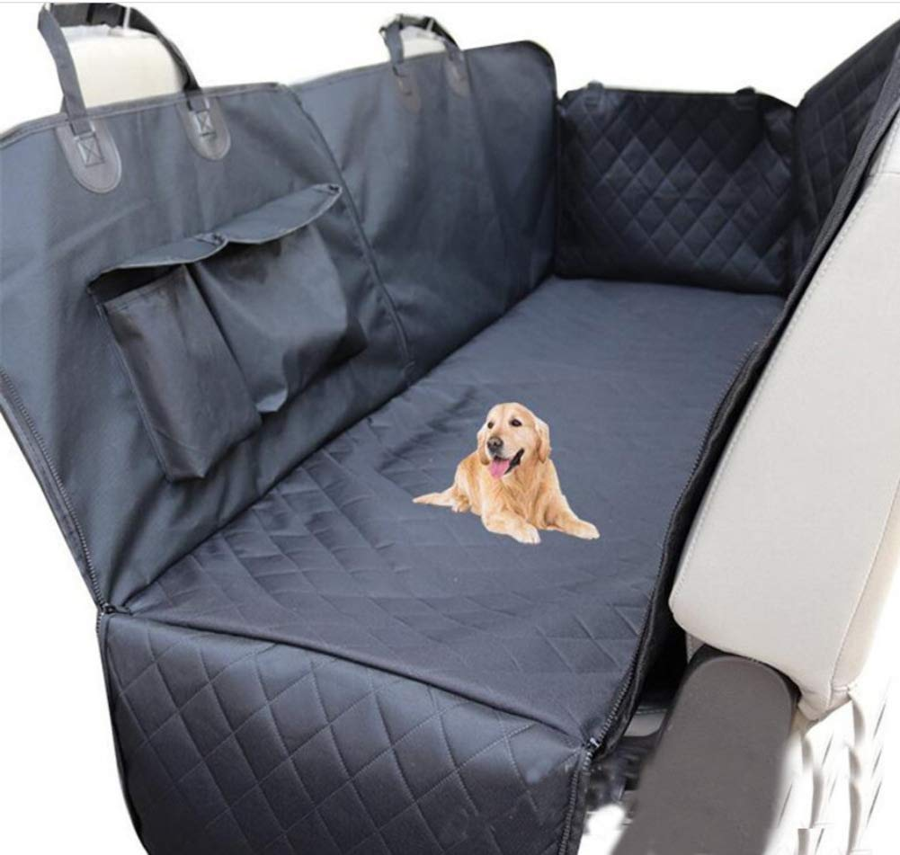 Liuhoue Dog Car Storage Bag, Rear Car Pet Mat