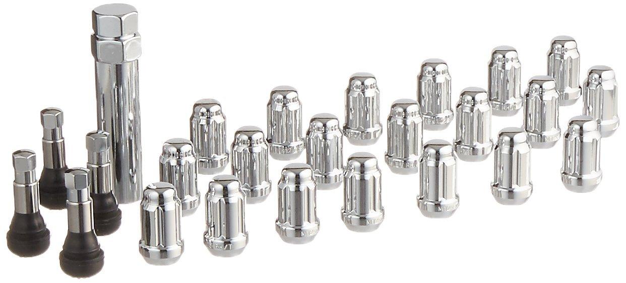 Enkei 21123HT Lug Nut Set, 12mm x 1.25, 20 Piece