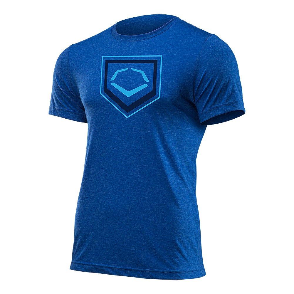 Evoshield 2色ホームプレートフラッシュ野球/ソフトボールTシャツ B01D5H991A X-Large|ロイヤル ロイヤル X-Large