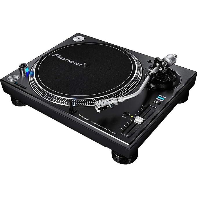 Pioneer Photo Albums - Giradiscos DJ - Pioneer Plx-1000, Negro, Tracción Directa, 33 RPM, Anti-Vibraciones