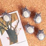 Cute 3D Cartoon Wooden Galesaur Pushpins for Corkboard / Decrorative Thumb Tacks Set of 5 PCS