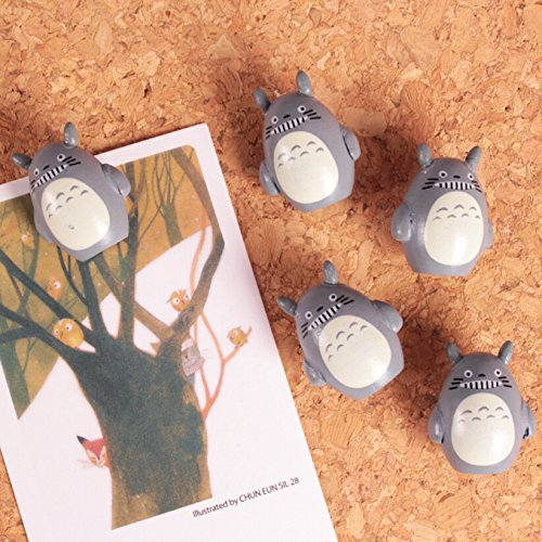 Cute 3D Cartoon Wooden Galesaur Pushpins for Corkboard / Decrorative Thumb Tacks Set of 5 PCS