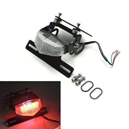 Nc700x fender eliminator kit tail tidy license plate holder mount nc700x fender eliminator kit tail tidy license plate holder mount bracket with led tail light for cheapraybanclubmaster Gallery