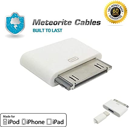 iPod 30 broches femelle vers Micro USB Mâle iPad Adaptateur chargeur iPhone