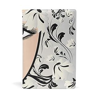 EZIOLY - Copertina elastica per libri con copertina rigida fino a 22,8 x 14,6 cm, in tessuto senza adesivo Facile da applicare. Lavare e riutilizzare.