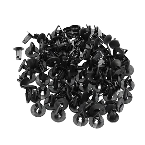 50x Cowl Fender Liner Push Pin Clips For Ford For Hummer For GM Torrent Equinox