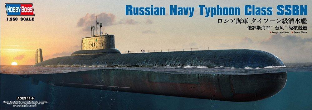 Hobby Boss Russian Navy Typhoon Class SSBN Model Kit