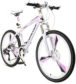 GPAN 24 Pulgadas Bicicleta Mountain Mujeres Bikes,24 Velocidades ...