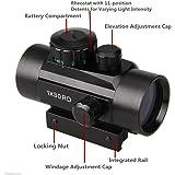 VERY100 TOP Leuchtpunktvisier 1 x 30 Red & Green Dot Sight Leuchtpunkt - Zielgerät Optik